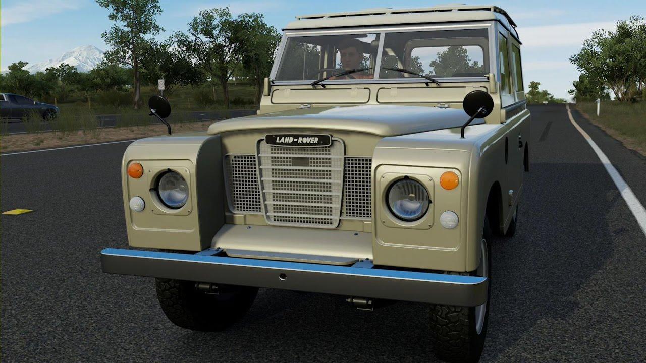 Land Rover Series III 1972 - Forza Horizon 3 - Test Drive Free Roam