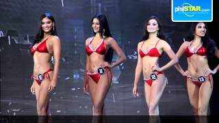 Video Binibining Pilipinas 2015 candidates flaunt their swimwear during the pageant's swimsuit competition download MP3, 3GP, MP4, WEBM, AVI, FLV Juni 2018