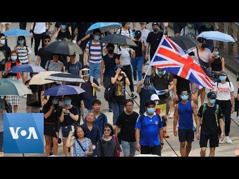 Hong Kong Protests Continue At Causeway Bay