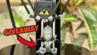 Amazing 3D Printer For DIY Projects | FLSUN QQ | GIVEAWAY