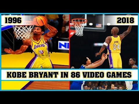 KOBE BRYANT, the evolution in Video Games [1996 - 2018]