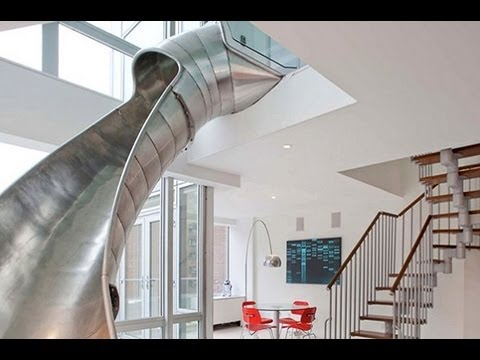 NYC Penthouse with Slide!