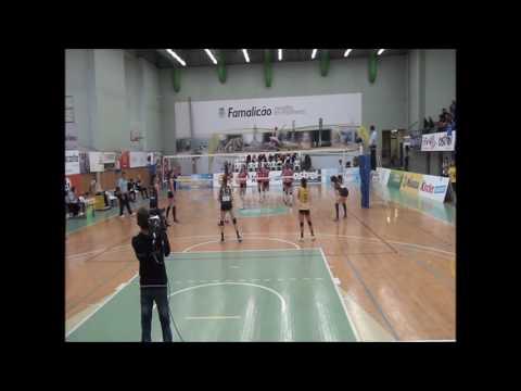 AVC x Porto Vólei: Playoff - Divisão Elite (1º jogo)