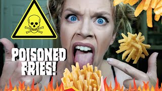 I ALMOST ATE DEADLY FRENCH FRIES! | STORYTIME!