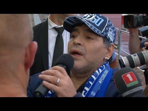 afpbr: Maradona vira dirigente e Messi dá um tempo da seleção