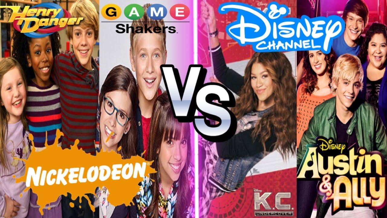 nickelodeon vs disney channel stars musical ly battle henry danger