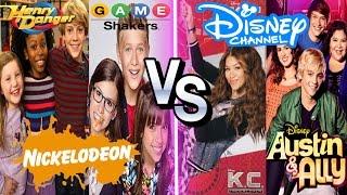Nickelodeon Vs Disney Channel Stars Musical.ly Battle | Henry Danger , Game Shakers Musically