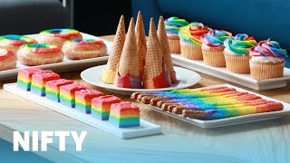 5 Easy Rainbow Snacks for Spring