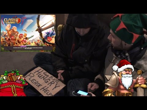 Clash Of Clans   Helping The Homeless - Christmas Special   Can They Win? - Toronto
