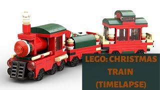 конструктор Lego Christmas Train 40138 обзор