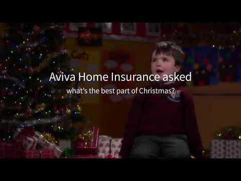 What's the best part of Christmas? | Home Insurance | Aviva