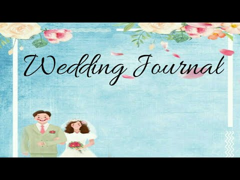 HOW TO PLAN YOUR WEDDING DAY // diy: wedding journal