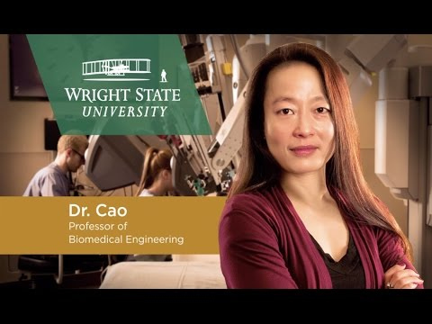 Advancing safety and success of robotic surgery: Dr. Caroline Cao