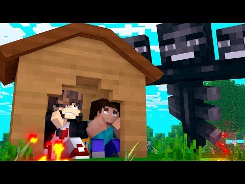 Minecraft: DESAFIO DA BASE 100% SEGURA CONTRA MEGA WHITER  ‹ JUAUM ›