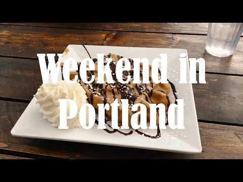 A Quick Weekend in Portland | Burnside Skatepark | Blue Star Donuts | Modern Times Brewery