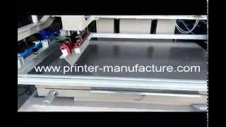 Flat Bed Screen Printing Machine Flat Screen Printer
