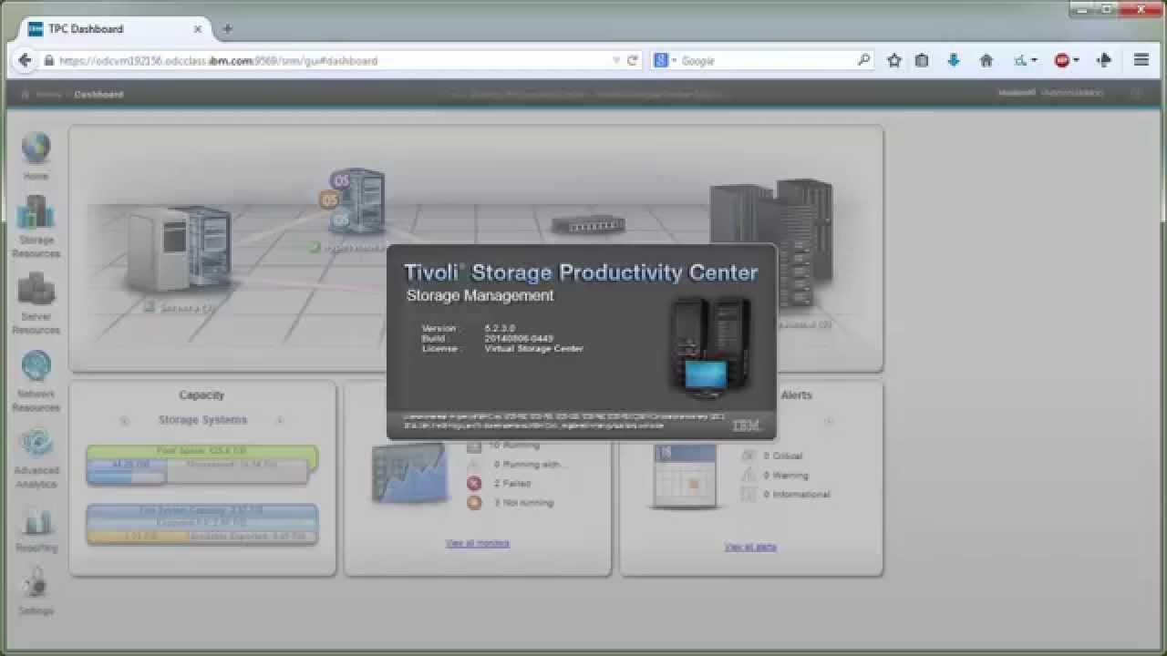Tivoli Storage Productivity Center Tpc V5 2 4 User Interface Change