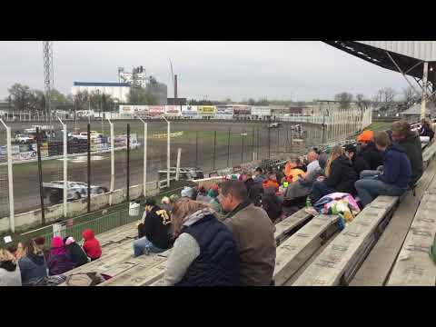 May 17th River Cities Speedway Late model Heat 1