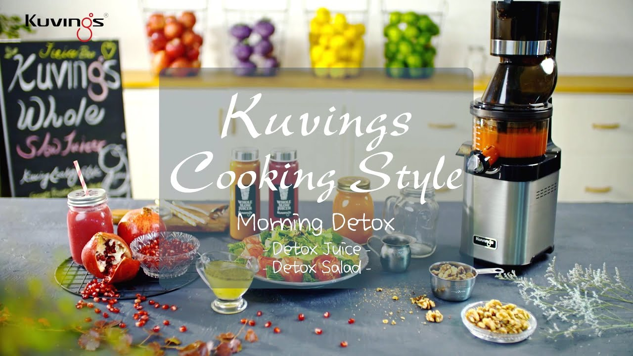 Kuvings Cooking Style : Detox Juice and detox salad by ...