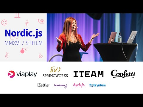 Nordic.js 2016 • Tomomi Imura - From Software to Hard ware: How Do I Track My Cat with JavaScript