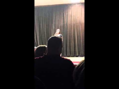 """Ava Middle school talent show Adele """"Someone Like You"""""""
