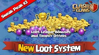 Clash of Clans - Sneak Peek #3 - New Loot System and League Bonuses [Town Hall 11 Update]