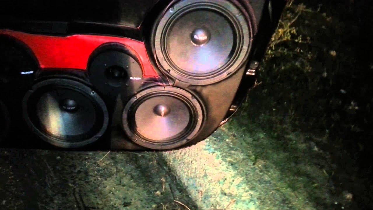 Fiat 500 abarth impianto stereo fronte da urlo youtube - Impianto stereo da camera ...