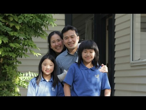 Japanese Software Test Analyst's family enjoy work-life balance in Christchurch, New Zealand.