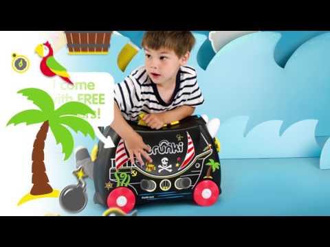 Trunki Ride On Luggage -  Pedro The Pirate