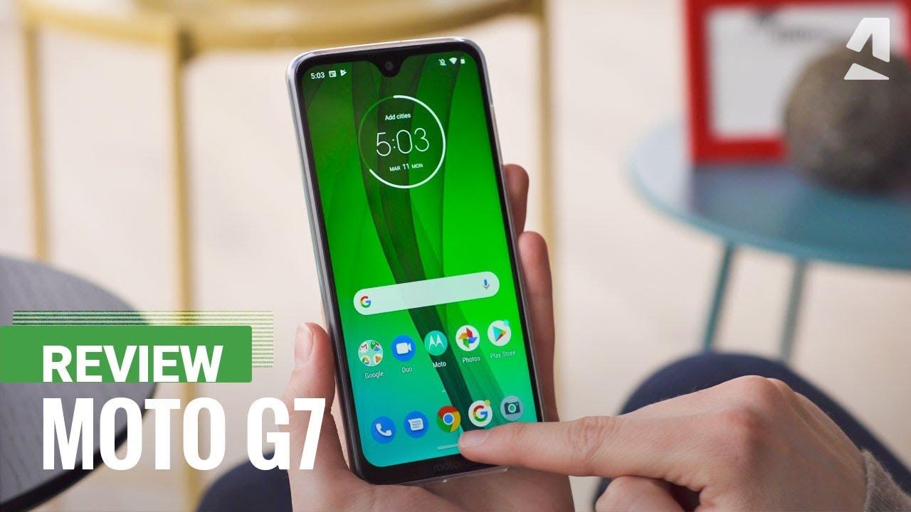 Motorola Moto G7 - Full phone specifications