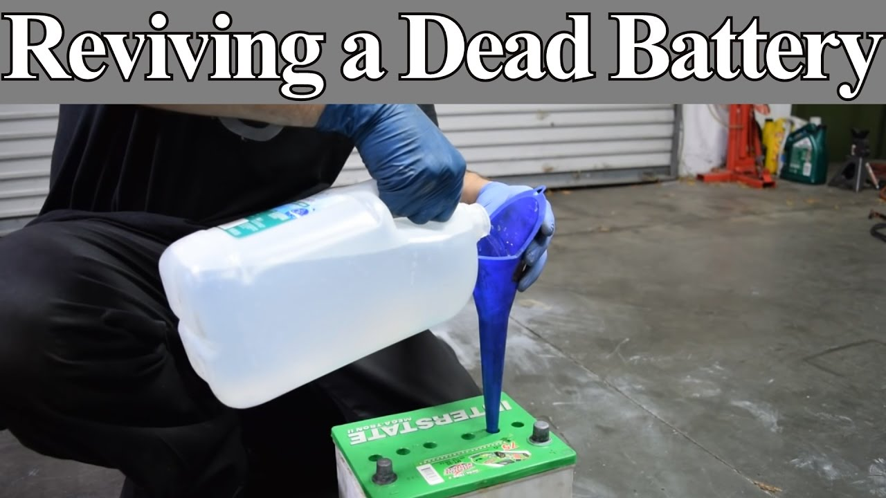 Is It Possible To Revive A Dead Battery With Epsom Salt See For