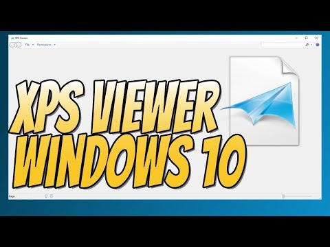 How To Install XPS Viewer In Windows 10 | How To View XPS Files Tutorial