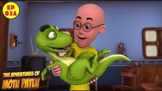 Motu Patlu | Baby Dinosaur | Best Cartoon For Kids