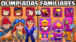 WHAT IS THE BEST FAMILY? | OLYMPICS IN BRAWL STARS FAMILY