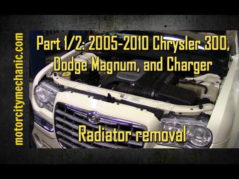 Part 1/2 2005-2010 Chrysler 300, Dodge Magnum, and Charger radiator