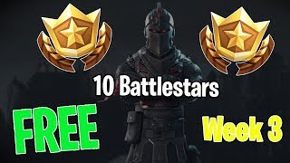 fortnite FREE secret battlestar/tier hidden location week 3 season 4 | (blockbuster challenge)