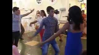 грузинская свадьба , танец рачули!!!