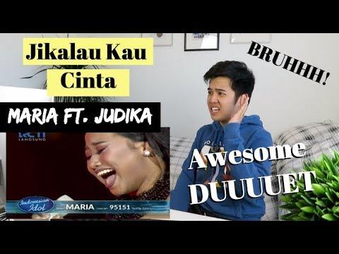 "MARIA ft. JUDIKA - ""JIKALAU KAU CINTA"" - Top 4 - Indonesian Idol 2018 | (Reaction Video)"