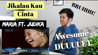 "MARIA ft. JUDIKA - ""JIKALAU KAU CINTA"" - Top 4 - Indonesian Idol 2018 