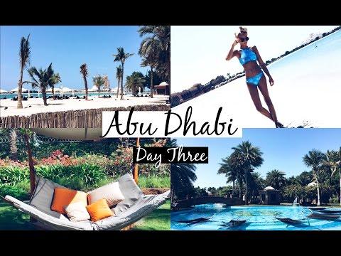 A Day at Emirates Palace | ABU DHABI DAY 3