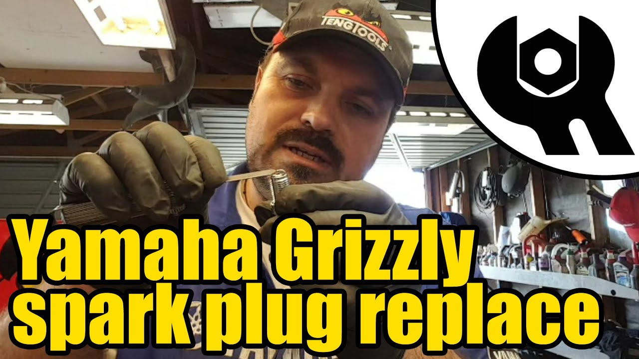 medium resolution of yamaha grizzly 450 spark plug replacement 1805