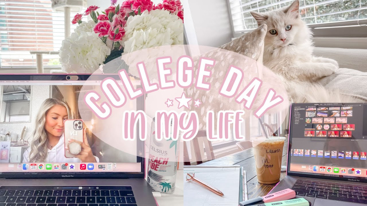 Download College Day In My Life! | Filming, Coffee Shop, & Cleaning | The University of Alabama