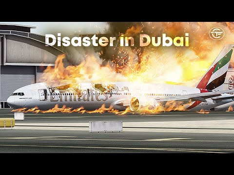 Crashing A Boeing 777 On Final Approach To Dubai | Here's What Really Happened To Emirates 521