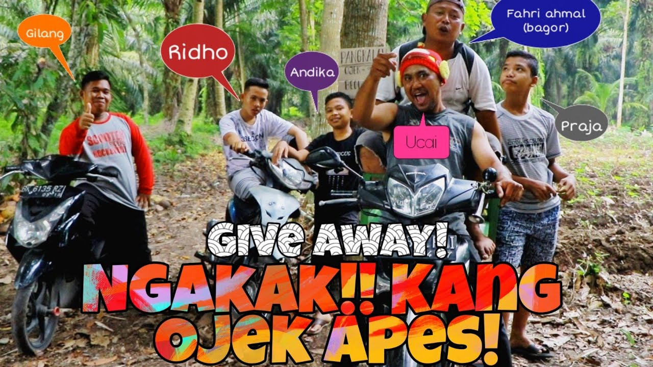 "VIDEO VIRAL❗❗: ""Tukang ojek apes"""