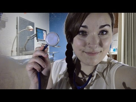 ASMR Cranial Nerve Examination - Relaxing Medical Roleplay