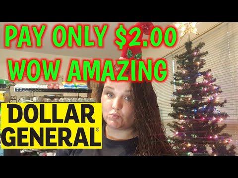 DOLLAR GENERAL DEAL   Vlogmas DAY 6