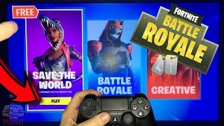 SAVE THE FREE WORLD FOR ALL PLAYERS AT FORTNITE