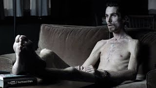 Christian Bale looking Like skeleton, lost 62 pounds for his role | The Machinist (2004) Movie