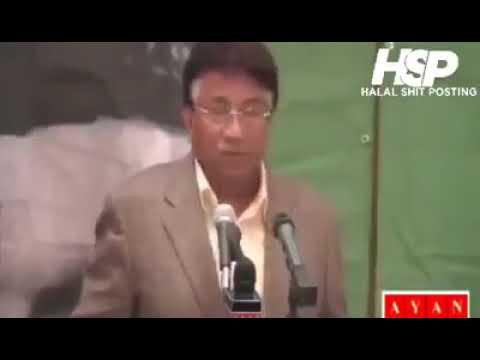 Pervez Musharraf funny address to the nation