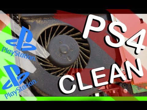 HOW TO CLEAN A PS4 !!! 2019 Edition !!!